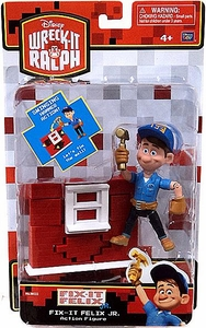 Wreck-It Ralph Movie Action Figure Fix-It Felix Jr. [Swinging Hammer Action]