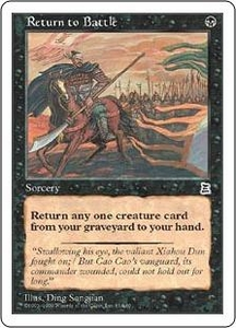 Magic the Gathering Portal Three Kingdoms Single Card Common #81 Return to Battle