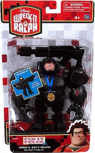 Wreck-It Ralph Movie Action Figure Hero's Duty Ralph [Poseable! Firing Action!]