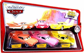 Disney / Pixar CARS Movie 1:55 Die Cast Story Tellers Collection 3-Pack Sheila, Rhonda & Laverne
