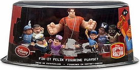 Wreck-It Ralph Movie Exclusive 5 Piece PVC Figurine Playset Fix-It Felix