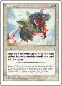 Magic the Gathering Portal Three Kingdoms Single Card Common #18 Riding Red Hare