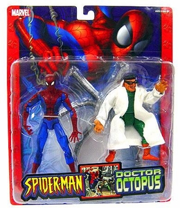 Spider-Man Toy Biz Action Figure Spiderman vs. Doctor Ock 2-Pack