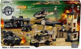 True Heroes Mega Bloks Set Military Combat
