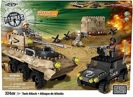 True Heroes Mega Bloks Set Tank Attack