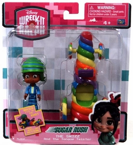 Wreck-It Ralph Movie Sugar Rush Racer Vehicle & Figure The Swizz & Tongue Twister