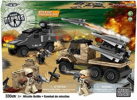 True Heroes Mega Bloks Set Missile Battle