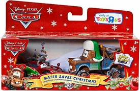 Disney / Pixar CARS Movie 1:55 Die Cast Holiday 2011 Exclusive Story Tellers 2-Pack Mater Saves Christmas [Snowplow Lightning McQueen & Whee-Hoo Winter Mater]