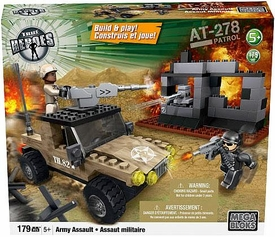 True Heroes Mega Bloks Set Army Assault