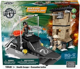 True Heroes Mega Bloks Set Stealth Escape