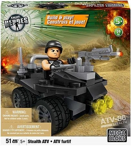 True Heroes Mega Bloks Set Stealth ATV