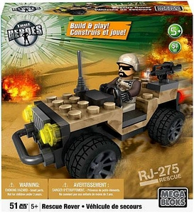 True Heroes Mega Bloks Set Rescue Rover