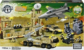 True Heroes Mega Bloks Set Military Battle Unit