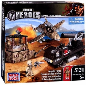 True Heroes Mega Bloks Set Missile Force