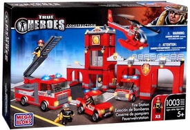 True Heroes Mega Bloks Set Fire Station