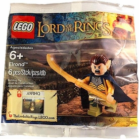 LEGO Lord of the Rings Exclusive Set #5000202 Elrond [Bagged]