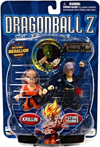 Dragon Ball Z Exclusive Action Figure 2-Pack Krillin & Future Trunks