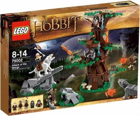 LEGO Hobbit Set #79002 Attack of the Wargs