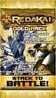 Redakai Card Game GOLD Booster Pack