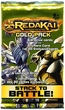 Redakai Card Game HOBBY Edition MetaCharged GOLD Booster Pack [6 X-Drive Cards]