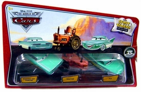 Disney / Pixar CARS Movie 1:55 Die Cast Story Tellers Collection 3-Pack Wedding Day Ramone, Tractor & Flo
