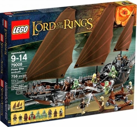 LEGO Lord of the Rings Set #79008 Pirate Ship Ambush