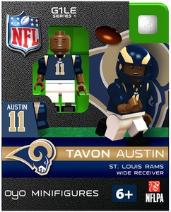 OYO Football NFL Building Brick Minifigure Tavon Austin [St. Louis Rams]