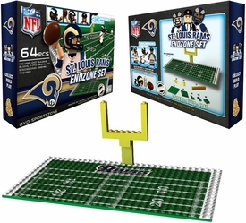 OYO Football NFL Generation 1 Team Field Endzone Set St. Louis Rams