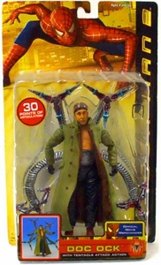 Spider-Man 2 Movie Action Figure Doc Ock