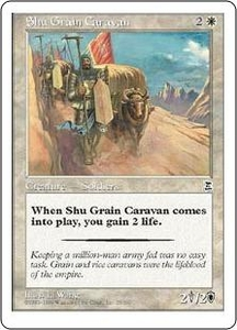 Magic the Gathering Portal Three Kingdoms Single Card Common #26 Shu Grain Caravan