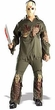 Friday the 13th Adults Costume Super Deluxe Jason (Adult-Standard Size) #56064