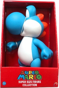 Popco Super Mario Brothers 9 Inch Series 2 Classic Super Size Vinyl Figure Collection Yoshi [Blue]