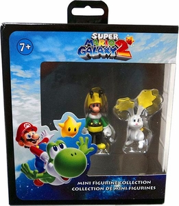 Super Mario Galaxy 2 Mini Figurine 2-Pack Bee Luigi & Rabbit