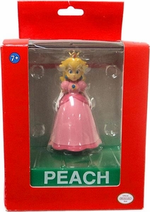 Super Mario Wii Deluxe Vinyl 4 Inch Action Figure Peach
