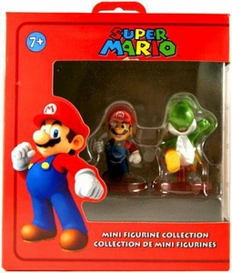 Super Mario Mini Figurine 2-Pack Mario & Yoshi