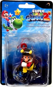 Super Mario Galaxy 2 Mini Figure Keychain Bee Mario