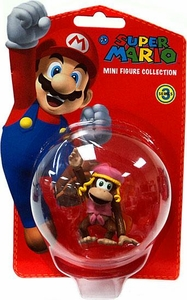 Popco Super Mario Brothers Series 3 Vinyl Mini Figure Dixie Kong