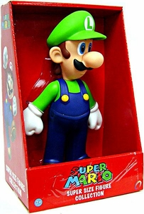 Popco Super Mario Brothers 9 Inch Series 1 Classic Super Size Vinyl Figure Collection Luigi