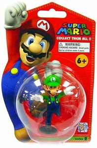 Master Replicas Super Mario Brothers Series 2 Vinyl Mini Figure Luigi