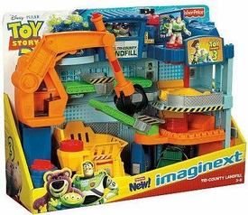 Imaginext Disney / Pixar Toy Story 3 Exclusive Playset Tri-County Landfill [Junkyard]