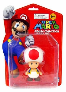Super Mario Brothers Master Replicas 5 inch PVC Series 1 Figure Toad