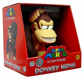 Super Mario Exclusive 12 Inch Heavy Grade Deluxe Vinyl Action Figure Donkey Kong