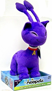 Neopets Series 2 Deluxe 10 Inch Collector Plush Purple Aisha