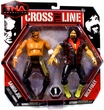 TNA Wrestling Cross The Line Action Figure 2-Packs