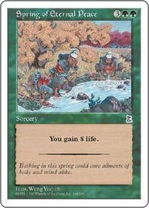 Magic the Gathering Portal Three Kingdoms Single Card Common #148 Spring of Eternal Peace