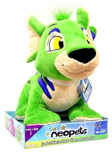 Neopets Series 1 Deluxe 10 Inch Collector Plush Green Kougra