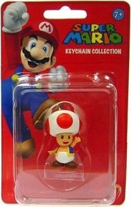 Popco Super Mario Series 1 Mini Figure Keychain Toad