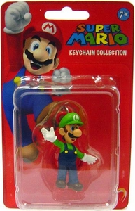 Popco Super Mario Series 1 Mini Figure Keychain Luigi