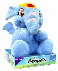 Neopets Series 1 Deluxe 10 Inch Collector Plush Striped Elephante