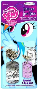 My Little Pony Friendship is Magic Deluxe Dog Tag 2-Pack Pre-Order ships April